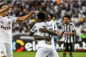 Atlético goleia o Botafogo no Rio de Janeiro