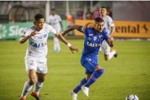 Copa do Brasil: Cruzeiro vence o Santos na Vila Belmiro