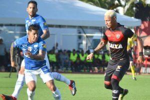 Cruzeiro empata de 1 a 1 com o Vitória em Salvador