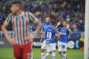 Cruzeiro vence Fluminense e encerra jejum no Brasileiro
