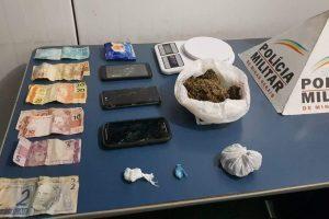 Drogas são apreendidas no Bairro Lajinha após denúncia