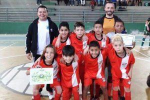 Estrelaite é destaque no futsal em Ouro Preto