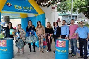EM VIDA promoverá ações de saúde no centro para encerrar campanha das fraldas da Rede do Bem