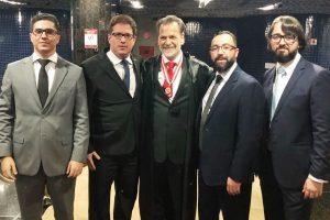 Presidente da OAB Manhuaçu participa da posse do novo conselheiro do TCE-MG, Durval Ângelo