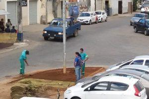 SAMAL dá novo visual à praça da rodoviária