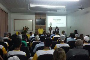 Setembro Amarelo mobiliza o Hospital César Leite