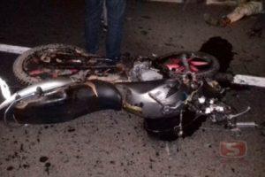 Motociclista morre em acidente com caminhão na BR 116