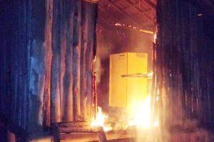 Dois homens são salvos de incêndio por militares em Manhuaçu