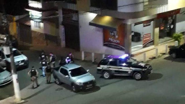 Ação rápida: Homens que tentaram arrombar banco em Simonésia são presos