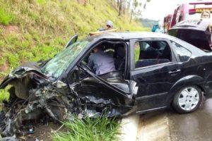 Acidente deixa dois feridos na BR 116; 2 acidentes envolvendo motos na BR 262