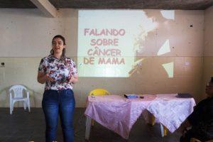 Vice-presidente do CMS fala sobre prevenção ao câncer de mama no COAMMA