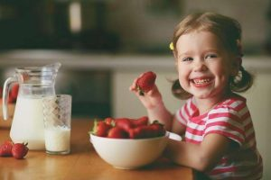 A importância do café da manhã para as crianças