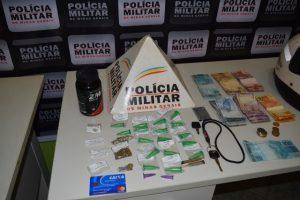 Drogas são apreendidas no Bairro Santana