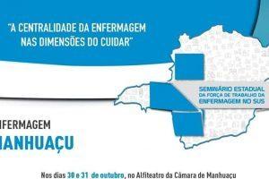 Força de trabalho de enfermagem no SUS será tema de seminário em Manhuaçu