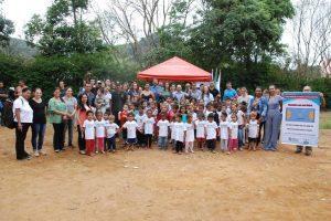 Prefeitura lança obras da quadra poliesportiva no Bairro Matinha