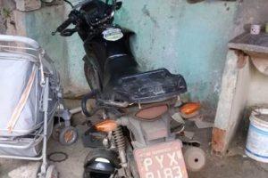 Caratinga: PM recupera motocicleta furtada em Manhuaçu