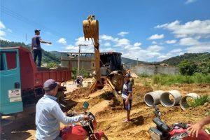 SAAE constrói nova rede pluvial em Palmeiras