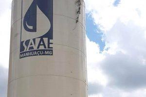 Manhuaçu: SAAE instala novo reservatório em São Pedro do Avaí
