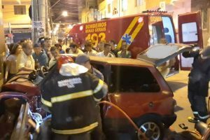 Uno bate em parede de hotel após descer descontrolado pela Melin Abi-Ackel