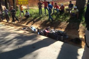 Caratinga: Motociclista morre em acidente na BR-116