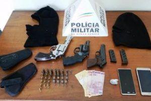 Manhuaçu: PM apreende 03 armas de fogo no Distrito de Realeza