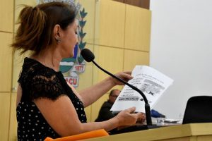 Cici Magalhães anuncia cancelamento da Feira da Paz