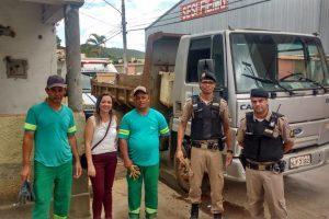 CREAS orienta homem em situação de rua e limpa residência no B. Bom Pastor