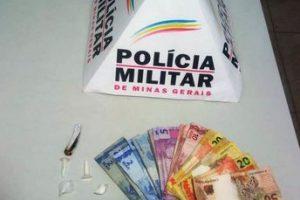 PM apreende drogas em Manhuaçu