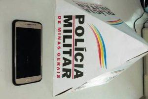 Manhuaçu: PM recupera celular furtado
