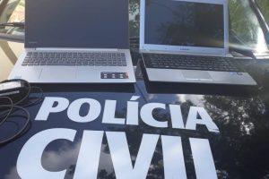 Polícia Civil apreende menores e recupera produtos furtados
