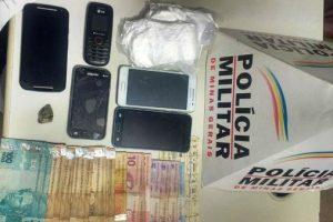 Manhuaçu: PM prende autores por tráfico de drogas
