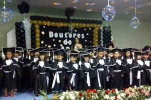 Veja como foi a formatura dos alunos da EMEI Inazir Martins Pires