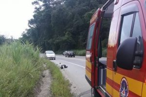 Homem morre atropelado em Reduto