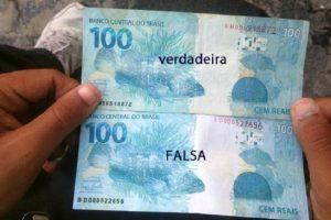 2 mil reais falsos são apreendidos pela PM