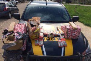 PRF apreende dinheiro, drogas, armas e munições em Realeza e Ibatiba