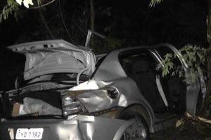 Santa Bárbara: 5 pessoas feridas ema acidente na BR 116