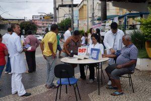 Prevenção em saúde: SMS realiza evento no centro da cidade