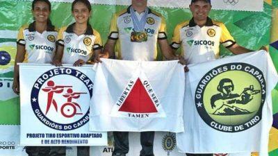 Atletas do projeto TEAR são campeões Brasileiros de Tiro Esportivo