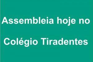 Colégio Tiradentes promove Assembleia de Pais e Mestres às 17h30