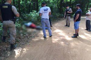 Região: Homem é encontrado morto com tiro no peito