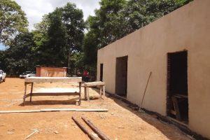 Prefeitura de Manhuaçu prossegue com obras da quadra do Bairro Matinha