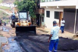 Ruas da Matinha recebem operação tapa-buracos
