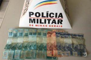 Homem é agredido e tem 1300 reais roubados. Envolvidos presos e parte do dinheiro recuperado