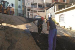 Operação tapa-buracos chega aos bairros Sagrada Família e Todos os Santos