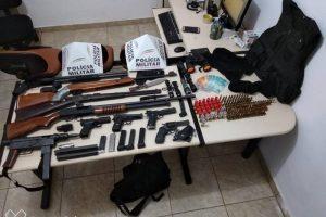 Santa Margarida: Quadrilha de assaltantes é desmantelada pela PM
