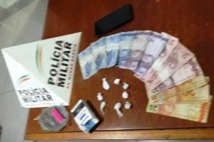 Abre Campo: PM apreende drogas durante Operação Batida Policial