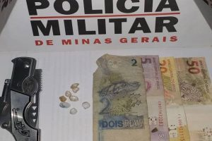 Santana do Manhuaçu: Acusado de ameaças é preso com drogas