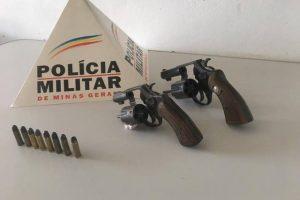 Arma e munições apreendidas em Simonésia