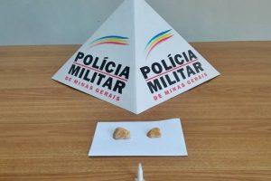 Manhuaçu: Pedras de crack e cocaína são apreendidas em Vilanova