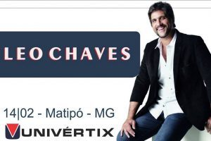 Abertura do semestre: Cantor Léo Chaves dará palestra na Univértix na quinta-feira